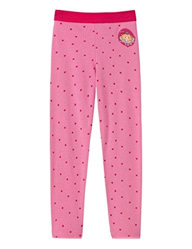 Schiesser Mädchen Lange Unterhose, Rot (599-bonbonrosa), 104