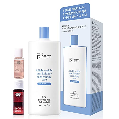 Make P:rem Uv Defense Me. Blue Ray Sun Cream