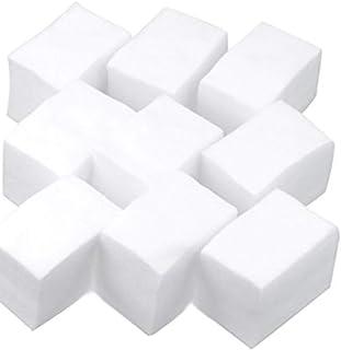 Cuadros de algod/ón Cotopads Lote de 3 Blanco 8 x 10 cm