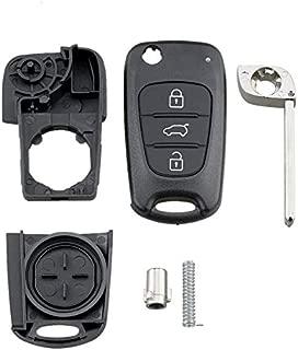 Cubierta de la Caja de la Llave de Aluminio Shell Key Blade Motocicleta Key Case Funda Protectora de Repuesto para Honda Tickas Key Fob Case