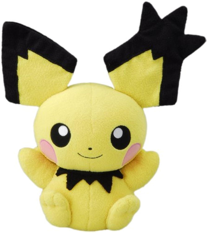 tienda en linea Takara Tomy Pokemon negro & blanco Voice Activated Talking Talking Talking Plush Juguete - 12  Pichu (Japanese Import) (japan import)  ordene ahora los precios más bajos