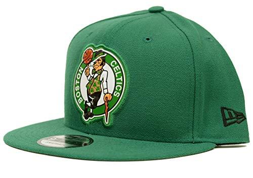 New Era NBA Boston Celtics Bold Bevel Snap 9Fifty Snapback, Green, One Size