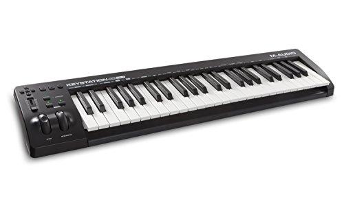 M-Audio USB MIDIキーボード 49鍵 ピアノ音源ソフト付属 Keystation49 III