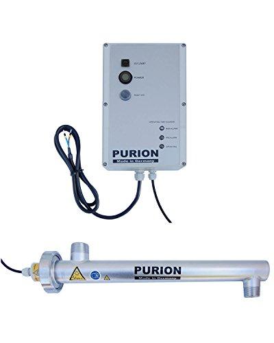 PURION 1000 24V Desinfección de agua potable móvil Sistema de desinfección UV con corriente continua para 1.000 l/h con monitorización de vida útil