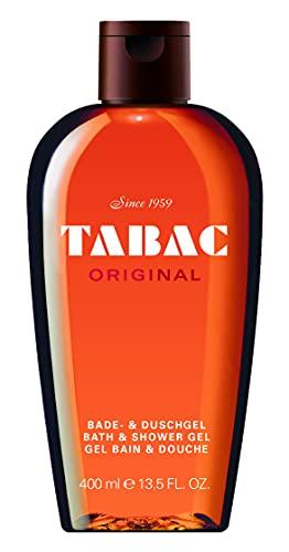 Tabac® Original I Duschgel - Original Seit 1959 - sanft zur Haut - mit dem Duft des Originals - spürbar gepflegtes Frischegefühl I 400ml