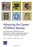 Advancing the Careers of Military Spouses: An Assessment of Education and Employment Goals and Barriers Facing Military Spouses Eligible for MyCAA
