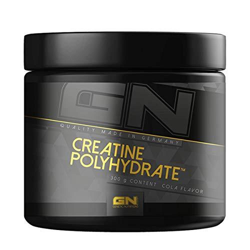 GN Laboratories Creatine Polyhydrate - Supplement Leistungsfähigkeit Muskelaufbau Kreatin Hydrochlorid - 300g (Neutral)