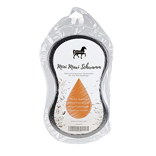 Animalon Mini Maxi Schwamm | Vakuumverpackter Schwamm zur Pferdepflege | Ergonomischer Pferdeschwamm