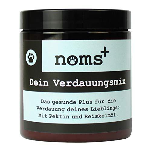 noms+ Natürlicher Verdauungsmix für Hunde und Katzen - mit Reiskeimöl, Pektin,...