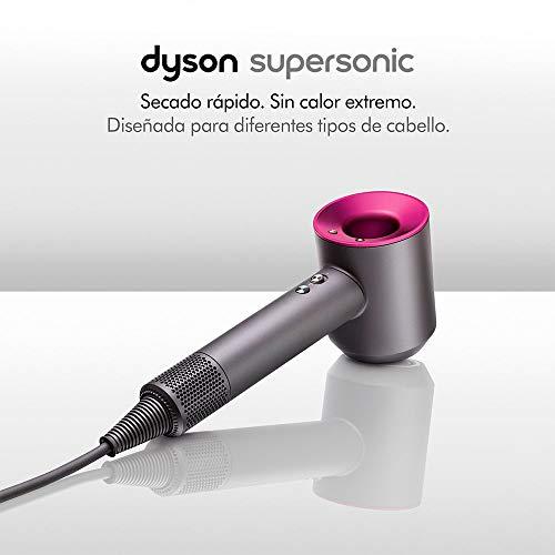 Dyson Supersonic, asciugacapelli set regalo, color acciaio e fucsia codice HD01