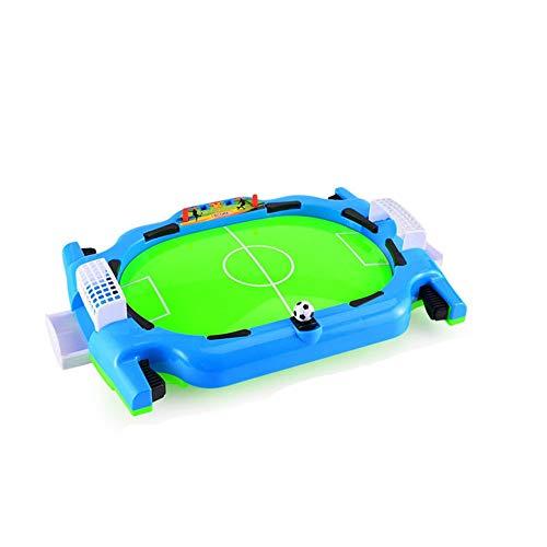ReedG Juego de Mesa Mesa de Juego de Puertos, Mini Mesa de fútbol Juego Familia Divertida Juguete niños Regalo Juego de diversión Familiar (Color : Green, Size : One Size)
