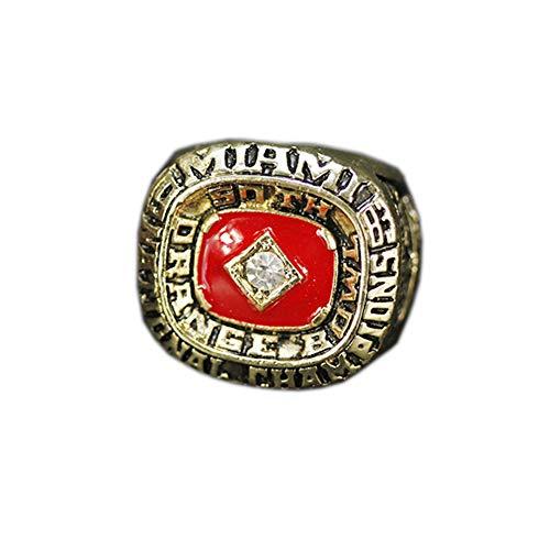 Fei Fei NCAA 1983 Miami Hurricane Championship Ring Anillos de Campeonato campeones de Baloncesto réplicas de Aficionados colección,with Box,11#