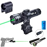 Viiko Green Laser Sight Beam Dot Laser Pointer High Power Scope Tactical Pressure