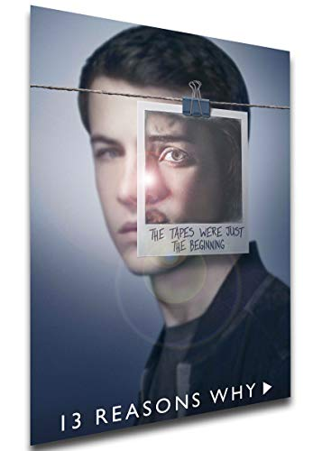 Instabuy Poster - TV Series - Playbill - 13 Reason Why Variant 08 A3 42x30