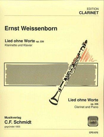 Ernst Weissenborn Lied ohne Worte op 226