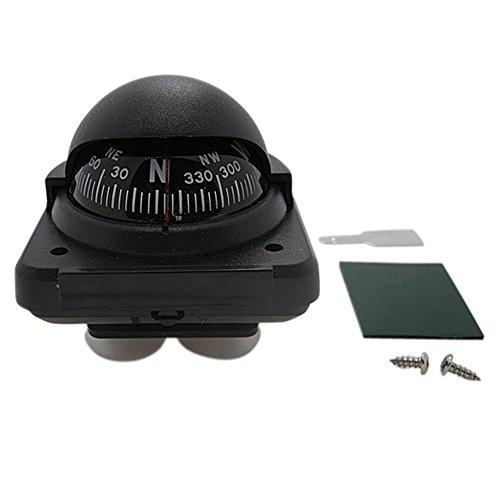 Blackr Boussole Multifonction électronique de Navigation de mer Bateau Bateau Bateau Noir