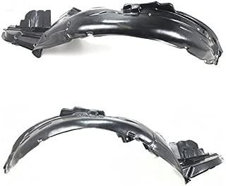 Koolzap For 06-07 Impreza Front Splash Shield Inner Fender Liner Panel Left & Right SET PAIR
