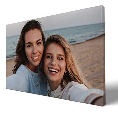 wandmotiv24 eigenes Foto Querformat 30x20cm auf Leinwand drucken Lassen, Ihr Fotodruck selbstgestalten eigenes Motiv, Leinwandbild, Fotogeschenk individuell