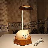 Schreibtischlampe Mit Flexiblem Hals, Led-Tischlampe Lesen Nachtlicht Energiesparende Nachttischlampe Geschenk Für Schlafzimmer Zu Hause Kinder Studenten Weihnachtsgeschenk