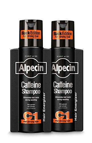 Alpecin Caffeine Shampoo C1 Black with new Fragrance 2x 250ml | Natural...
