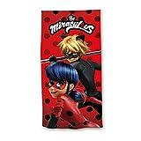 Miraculous LadyBug Serviette de Plage Fille - Rouge