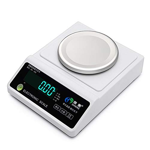 YZSHOUSE Oksmsa Digital Balanza Electrónica 0.001 Alta Precisión Laboratorio Balanza Joyería Peso Y PCS Contando Tara Y Cero (Size : 500g/0.001g)
