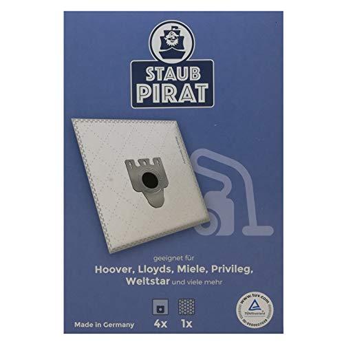 Preisvergleich Produktbild Staub Pirat Staubsaugerbeutel für Clatronic BS,  Fakir Prestige,  Menalux 4000,  Samsung s,  Swirl y