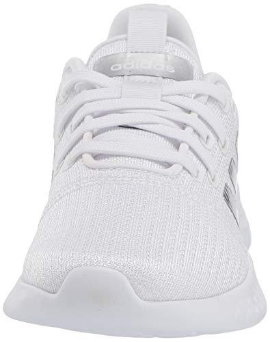 adidas Zapatillas de Correr para Mujer Puremotion, Blanco, Plateado y Gris, 39 1/3 EU