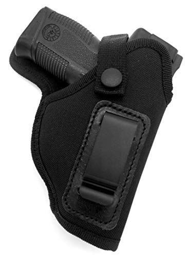 HOLSTERMART USA RIGHT HAND Dual-Function OWB Belt Slide or IWB AIWB...