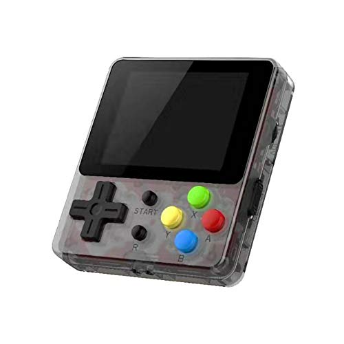 TRAINER SECRET Handheld Game Console, 188 8-bit Classic Games Portable 2.4 Inch HD Screen Video Game, Retro Game Console can be Played on TV, Best Gift for Children and Adults, Gifts (Black)