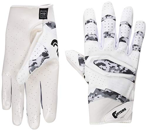 Cutters Rev Pro Football Gloves, Best Grip...