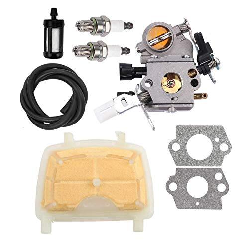 Hippotech Carburador C1Q-S121C con Filtro de Aire 1139 120 1602 para STIHL MS171 MS181 MS211 MS 181 171 211 Motosierra