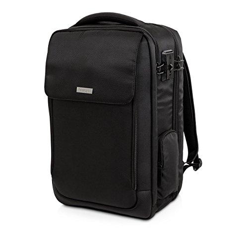 Kensington SecureTrek Laptop-Rucksack für 17 Zoll Laptop und 10 Zoll Tablet, SecureTrek-Schlossverstärkung für maximale Sicherheit, Idealer Rucksack für Geschäftsreisen, K98618WW