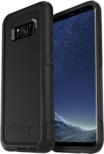 OtterBox COMMUTER SERIES Case for Samsung Galaxy S8 PLUS (ONLY) - Non-Retail Packaging - BLACK