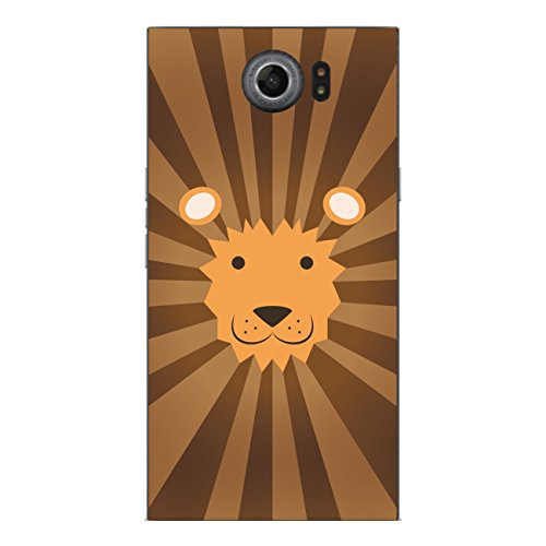 Disagu SF-sdi-4343_1025 Design Folie für BlackBerry Priv Rückseite - Motiv Löwengesicht