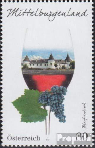 Oostenrijk 3279 (compleet.Kwestie.) 2016 Wijn (Postzegels voor verzamelaars)