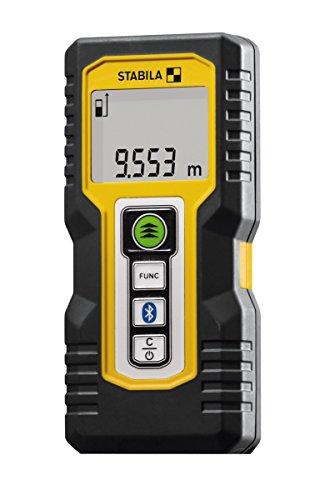 Stabila 18817 LD 250 BT Laserentfernungsmesser, schwarz/gelb