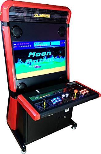 Máquina arcade con cientos de juegos