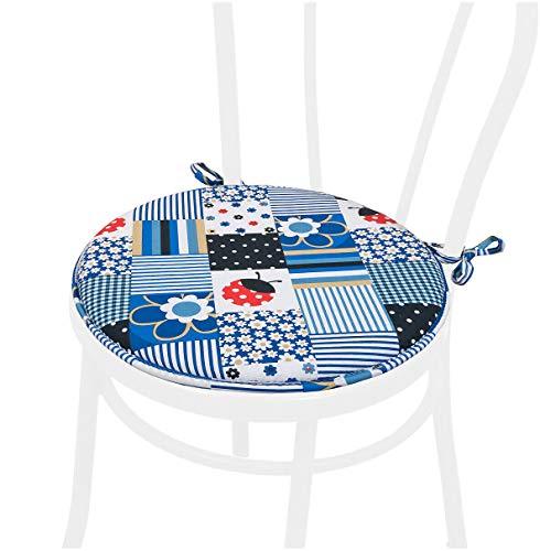 Cojines Para Sillas Con Lazos cojines para sillas  Marca EMMEVI