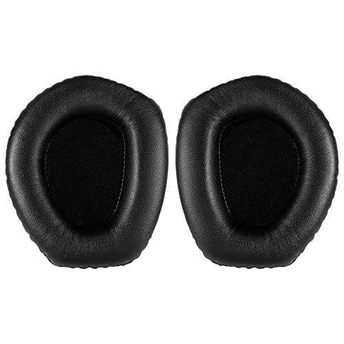 Yizhet Almohadillas Auriculares Compatible con Auriculares Sennheiser RS195 HDR195 RS185 HDR185 HDR175 RS175 HDR165 RS165, 1 Par Cascos Almohadillas para Auriculares Sennheiser Espuma (Negro)