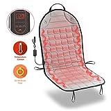 Zone Tech Car Heated Seat Cover Cushion Hot Warmer - Premium Quality...
