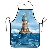 alice-shop Delantales, Faro, gaviotas, pájaros, Arquitectura, Arrecife marítimo, pez, Submarino, escénico, Vista
