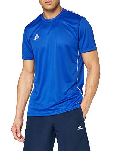 adidas Herren CORE18 JSY T-Shirt, Bold Blue/White, M