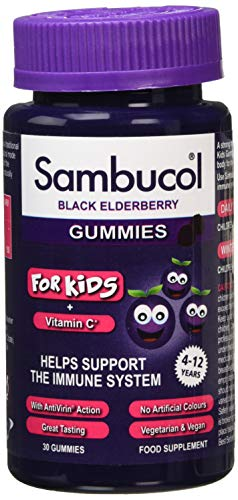 Sambucol Kids Gummies Vitamin C Immune Support Supplement, 30 Gummies