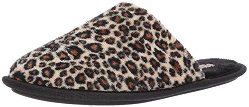 Daniel Green Women's Rave Ii Scuff Slipper, Cheetah, 8 W US