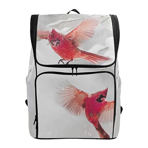 Chic Houses 2030369 - Bolsa para Ordenador portátil, diseño de pájaro Rojo