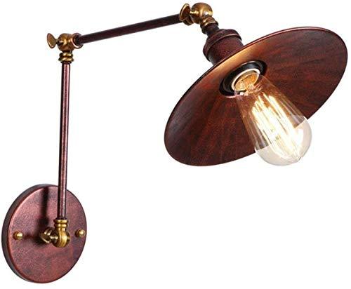 Lámpara de pared Industrial Led Vintage Pared De La Luz Del Aplique...