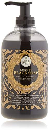Nesti Dante Liquid Soap Luxury Black mit Aktivkohle, 500 ml
