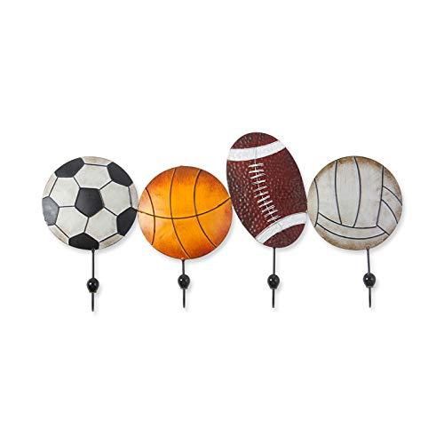 El Baloncesto el Futbol Perchero