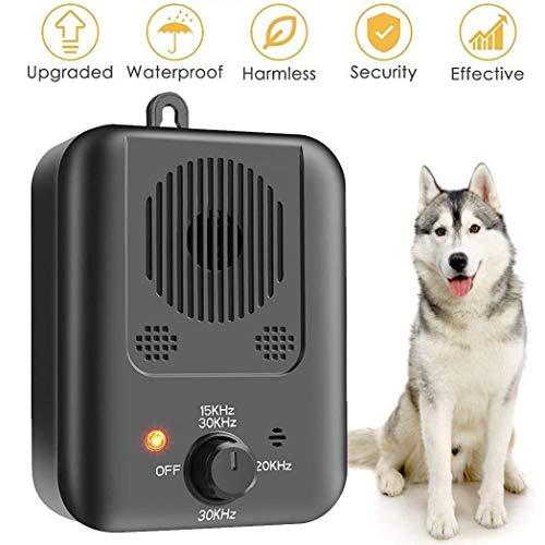 CYWEB Ultraschall Anti-Bell Gerät, Antibellhalsband, Sicher Hundetrainingsgerät Abschreckung Antibellen, Wiederaufladbarer Erziehungshalsband Hundebellen Abschreckung